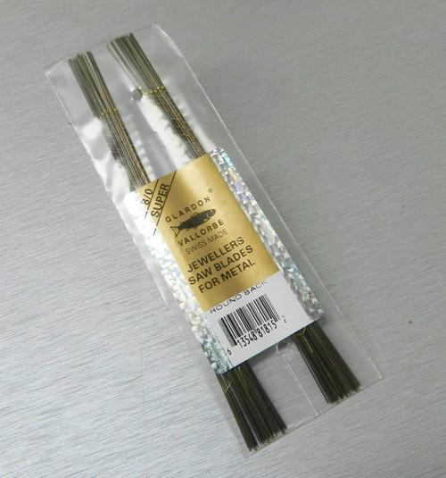 Vallorbe Saw Blades 8/0 Glardon Swiss Made Original Lames De Scie 1gross