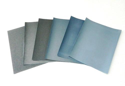 Matador 6 Sheet Assortment Wet Dry Sandpaper Abrasive Sanding Paper 180-600 Grit