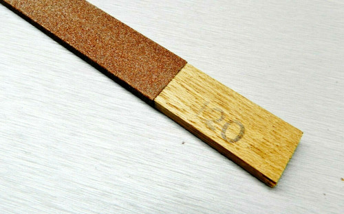 Emery Sanding Stick Flat 120 Grit Abrasive Filing High Quality