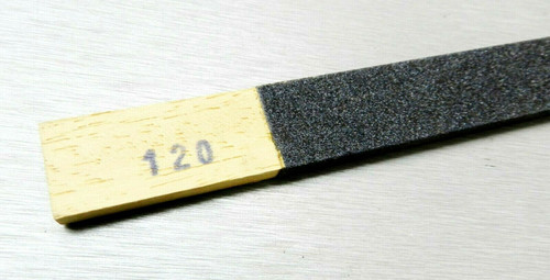 120 Grit Emery Sanding Stick Flat Abrasive Filing High Quality