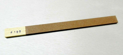 Emery Sanding Stick Flat 180 Grit Abrasive Filing High Quality