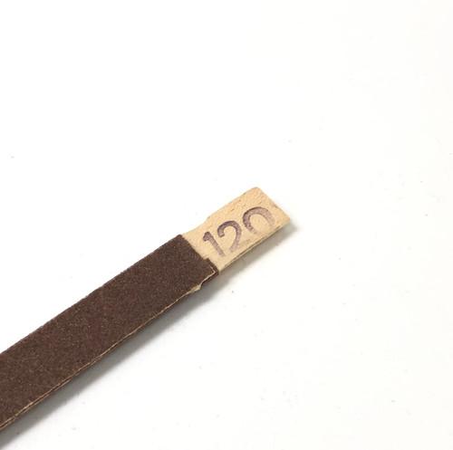 Emery Sanding Stick Half Round 120 Grit Abrasive Filing High Quality