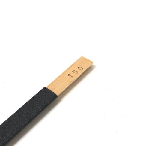 Emery Sanding Stick Half Round 150 Grit Abrasive Filing High Quality