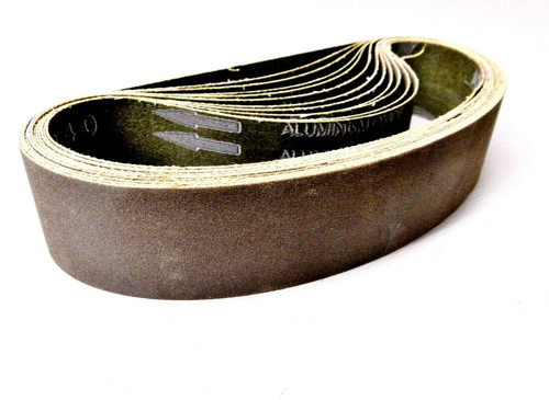 "6"" Abrasive Sanding Belt 240 Grit pack of 10 for Expanding Drum Sander Aluminum Oxide"