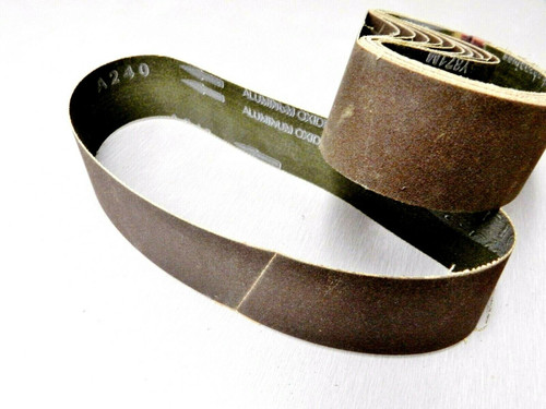 "6"" Abrasive Sanding Belt 240 Grit pack of 10 for Expanding Drum Sander Aluminum Oxide"