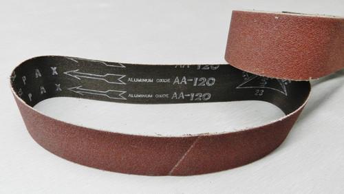 "6"" Abrasive Sanding Belt 120 Grit pack of 10 for Expanding Drum Sander Aluminum Oxide"