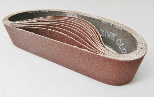 "6"" Abrasive Sanding Belt 120 Grit pack of 10 for Expanding Drum Sander Aluminum Oxide"
