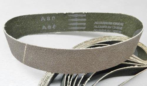 "6"" Abrasive Sanding Belt 80 Grit pack of 10 for Expanding Drum Sander Aluminum Oxide"