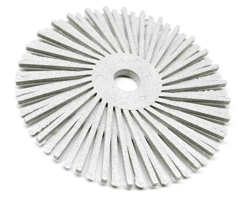 "3M Radial Bristle Discs 3"" White  bristle brush 50 Grit Coarse"