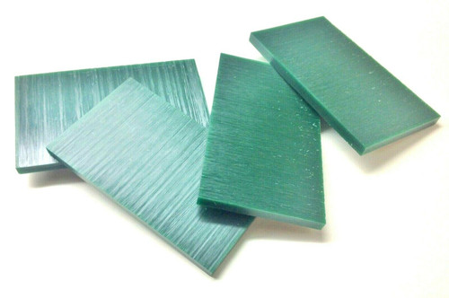 "Ferris Carving Wax Tablets Green Wax 3/8"" Thick 6""x3-1/2"" Flat Bars 4-Pcs 1lb"