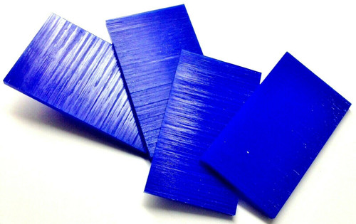 "Ferris Carving Wax Tablets Blue Wax 3/8"" Thick 6""x3-5/8"" Flat Bars 4-Pieces 1lb"