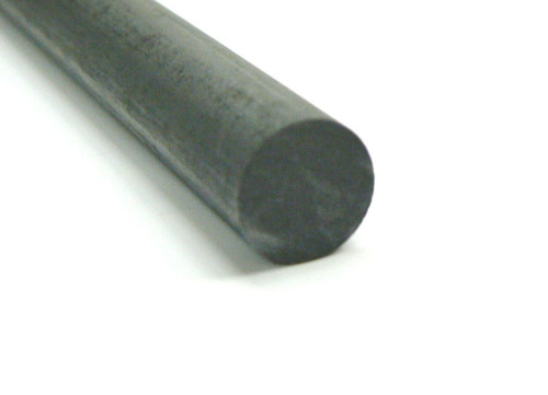 "1"" Thick Carbon Graphite Rod 1"" x 12"" Long Mixing Stirring Carbon Stick Mix Stir"