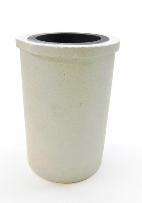CEIA Crucible F9 Induction Melting Crucible 10 Kilo 18k Gold Ceramic & Graphite