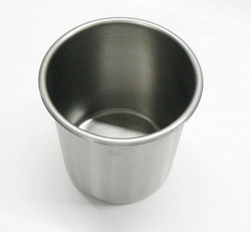 Bain Maries Stainless Steel Pot 2 Qt Capacity Beaker Kitchenware Container S.S.
