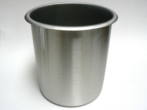 Bain Maries 3-1/2 Quart Pot Stainless Steel Beaker 3.3l Kitchenware Container