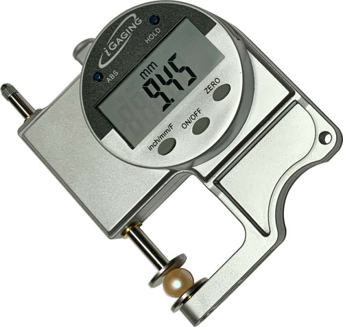 iGaging Snap Thickness Gauge 35-MT64 Large LCD Display - Inch Metric Fractional