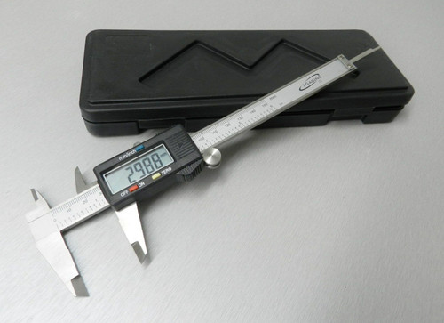 "Digital Caliper Electronic Vernier Gauge 0-6""  Stainless Steel LCD 6 Inch - 150mm"