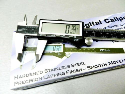 "iGaging Digital Electronic Caliper 6"" Precision 3 Way Reading Large LCD EZ Cal B"