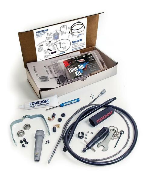 Foredom SR Series Tune Up Kit MSP12 For Flexshaft Motors 32 Pc Maintenance Parts