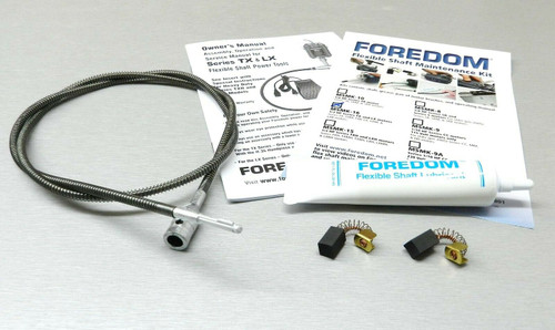 Foredom Maintenance KIT MSMK-16 for TX LX Flexshaft 1/3 Motor Shaft Brush Grease