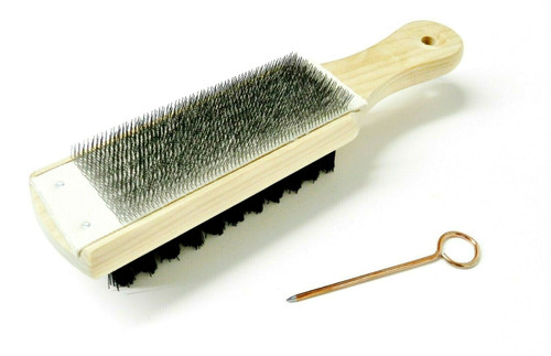 File Card Brush Lutz #20 Combination Card & Brush Cleaner & Pick Chips Bits USA
