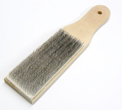 File Card Cleaner File Brush Clean Files Remove Chips Metal Bits LUTZ #10