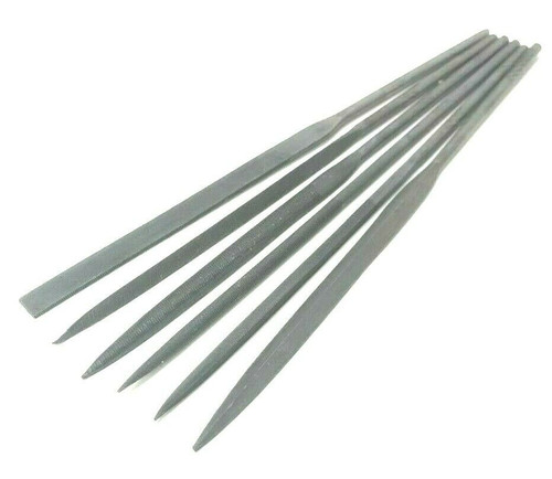 Needle File Set Cut 2 Assortment Files Cut 2 for Jewelry Wood Carving Craft 6pc