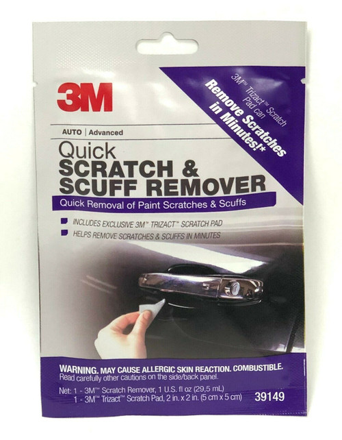 3M Quick Scratch & Scuff Remover for Auto Advanced 39149 Trizact Scratch Pad