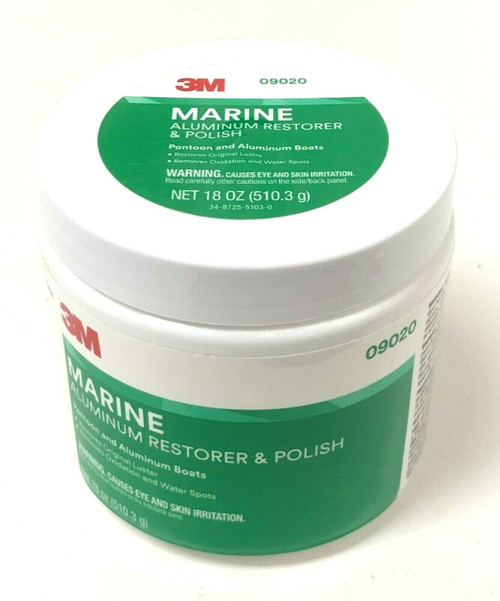 3M Marine Aluminum Restorer and Polish 09020 Remove Oxidation & Water Spot