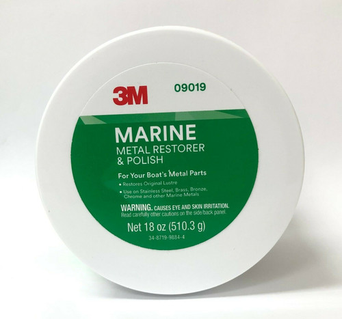 3M Marine Metal Restorer & Polish Designed to Restore & Polish Metals 18 oz.