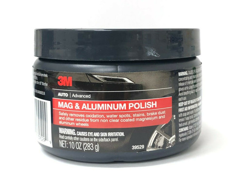 3M Mag & Aluminum Polish 39529 Auto Advance 10 oz. (283g) Made in USA