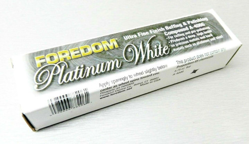 Foredom Platinum White Polishing Compound 5.75oz Bar Final Polish Platinum Gold