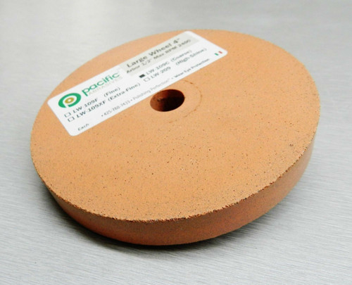 "Silicone Wheels 4"" x 1/2″ Wheel Coarse 150 Grit Polisher Pacific Abrasive Italy"