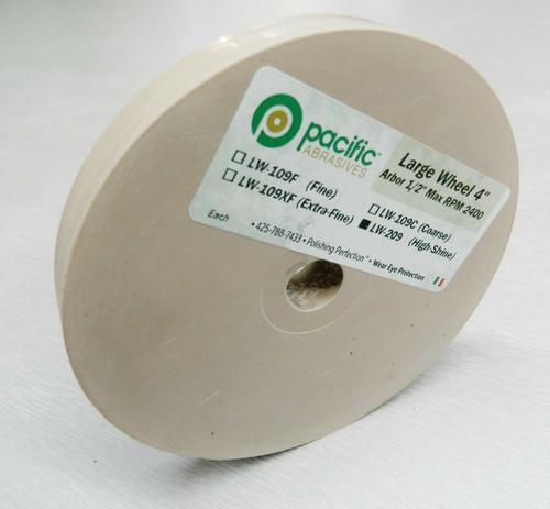 Silicone Wheels 4x1/2″ Wheel HIGH SHINE Pink Polisher 1000 Grit Pacific Abrasive