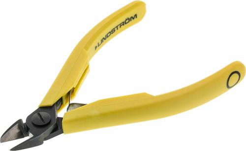 Lindstrom 8151 Flush Cutter Oval Medium Head Precision Side Cutting Pliers