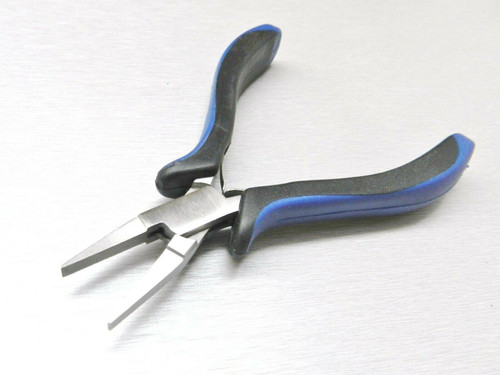 "Flat Nose Pliers Jewelry Beading Tool Ergonomic Plier 5"" Wire Wrapping Crafts"