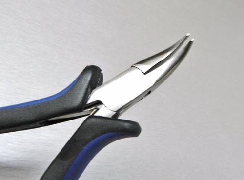 "Plier Bent Nose Plier 5"" Ergonomic Pliers Jewelry Beading Hobby Crafts Wire Work"