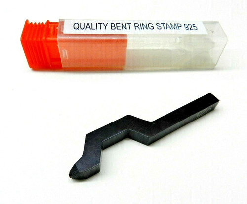 925 Marking Stamp Sterling Silver Bent Ring Stamp Punch Jewelry Making Tool