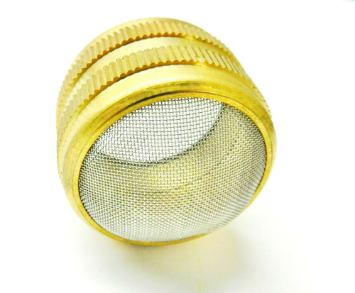 "2"" Ultrasonic Cleaner Basket Ball Cleaning Holder Brass & Stainless Mesh Non Mag"