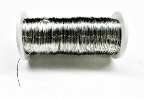 28ga Stainless Steel Wire Dead Soft Binding Wire Soldering 1/2lb Jewelry Making