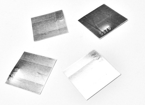 4 Pieces Silver Solder Sheet Assorted Pack 1Dwt @ X-Soft, Easy Soft, Medium and Hard