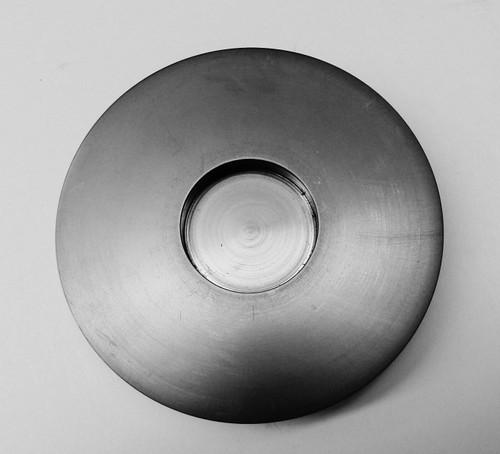5 Troy Oz Graphite Ingot Mold Round Coin Shape Gold Melting Refining Scrap
