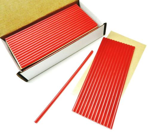 "Red Utility Wax Sticks Soft Wax 6"" x 3/16"" Thick Justi-Red by Ferris Freeman"