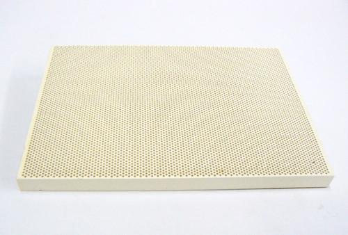 "Ceramic Honeycomb Block  5-1/2"" x 7-3/4"" x 1/2"" Soldering Board Perforated Large Block"