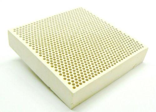 "Ceramic Honeycomb Soldering Block 3 x 3"" Alumina Plate Jewelry Solder Heat Board"