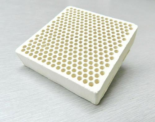 "Ceramic Honeycomb Soldering Block  2 x 2"" Jewelry Heat Plate Alumina Board"