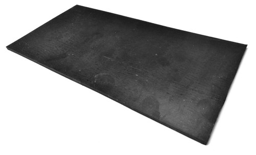"""Bench Rubber Mat Solid Durable Rubber Surface Pad Work Block 6"""" x 12"""" x 1/4"""""""