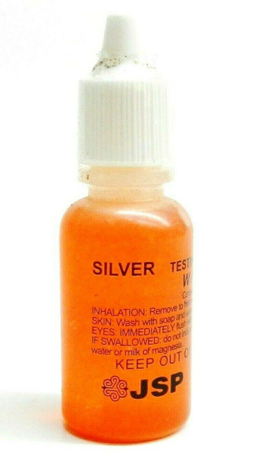 Silver Testing Acid Solution Scratch Test Acid for 925 Silver Scrap Jewelry JSP