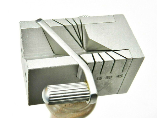 Mutli-Angle Cutting Jig Tube Wire Metal Stock Sawing Jewelry Making Hand Held
