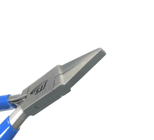 Plier Flat Nose Smooth Tips Slim Line Jewelry Hobby Wire Work Pliers 7 Series